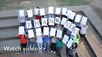 Students Say Thank You