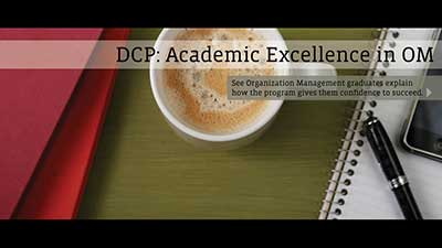 DCP: Academic Excellence in OM