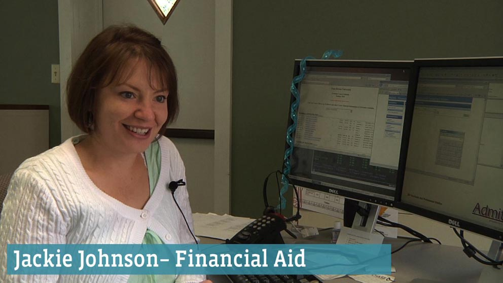 Financial Aid Staff: Jackie Johnson