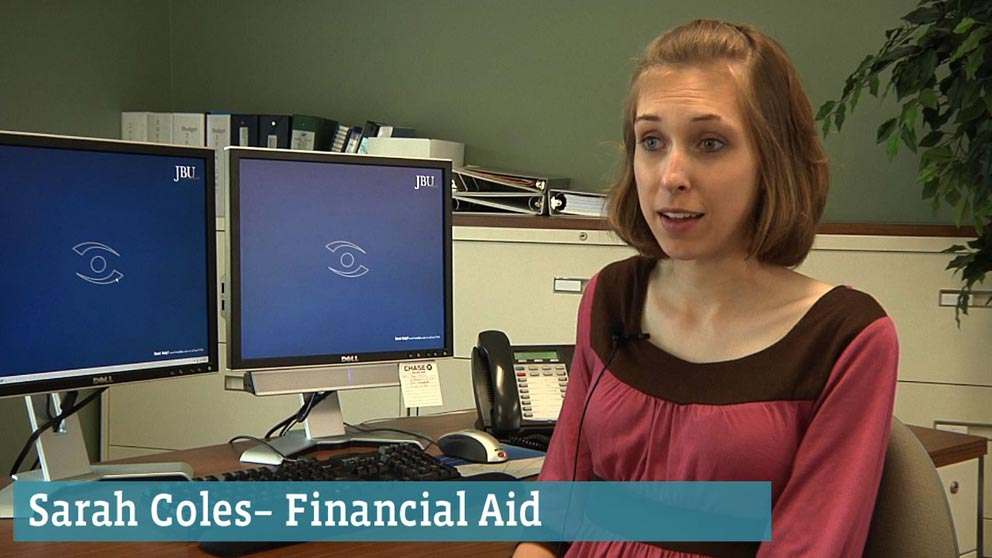 Financial Aid Staff: Sarah Cowles