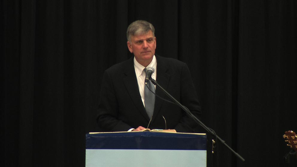 Chapel Speaker: Franklin Graham