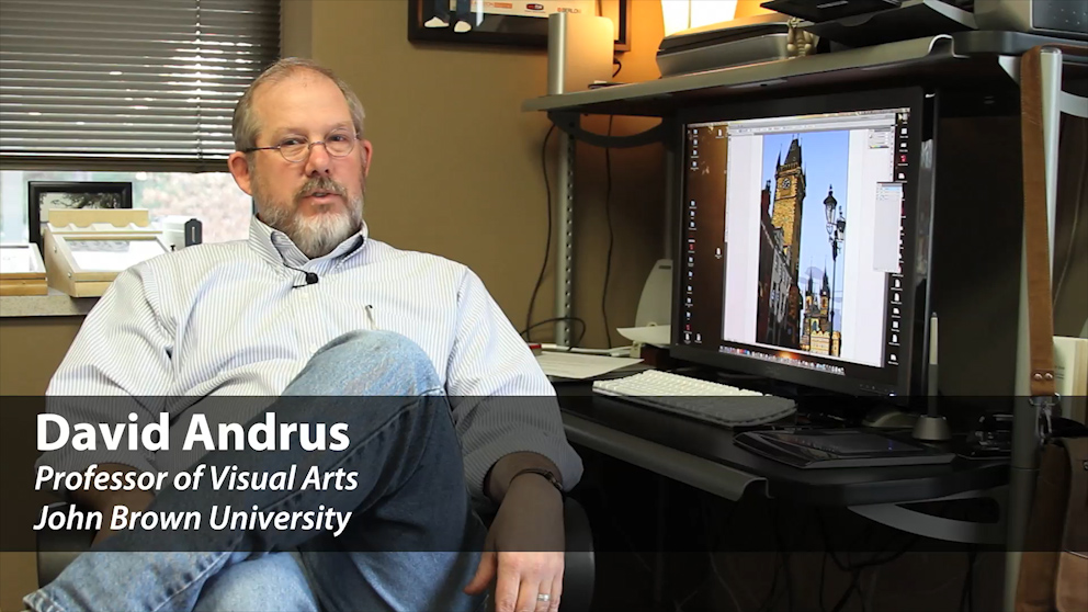 Meet Visual Arts Professor David Andrus