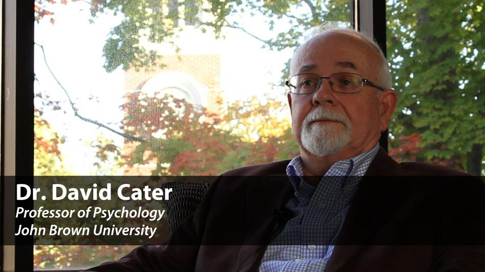 Meet Psychology Professor Dr. David Cater
