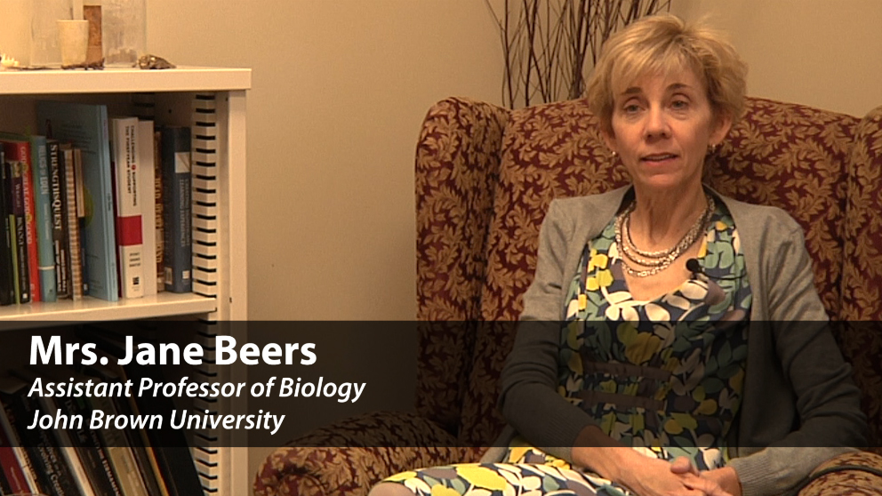 Meet Biology Professor Jane Beers
