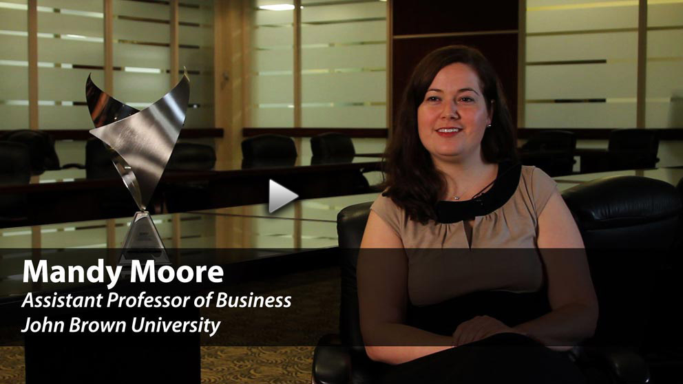 Meet Business Professor Mandy Moore