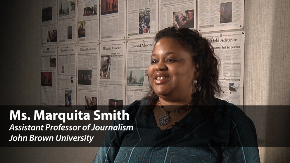 Meet Journalism and Public Relations Professor Marquita Smith