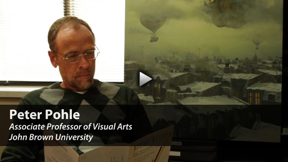 Meet Digital Media Arts Professor Peter Pohle