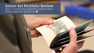 Senior Art Portfolio Review