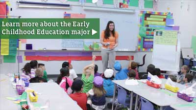 Learn about the Early Childhood Education major.