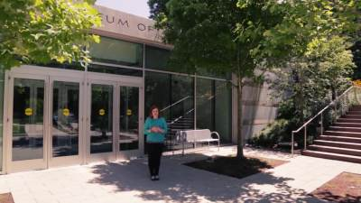 Alum Jessica Whalen talks about working at the Crystal Bridges Museum of America Art