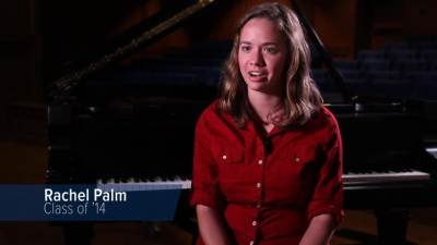 Senior Rachel Palm talks about being a music major.
