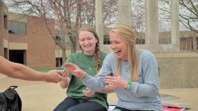 Word on the Street: Rubik's Cube Challenge