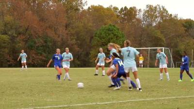 2015 Womens Soccer vs Wayland