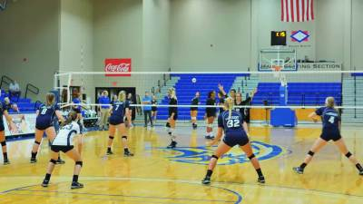 Volleyball vs Oklahoma City 2016
