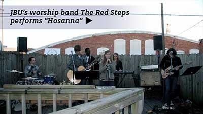 "Red Steps - ""Hosanna"""