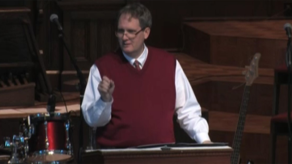 Chapel- President Pollard (December 1, 2011)