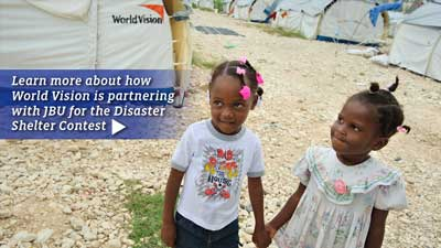 World Vision Disaster Shelter Design Competition