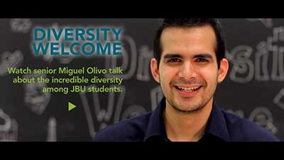 Diversity Welcome at JBU