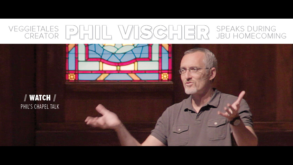 Phil Vischer Homecoming Chapel - Oct. 2012