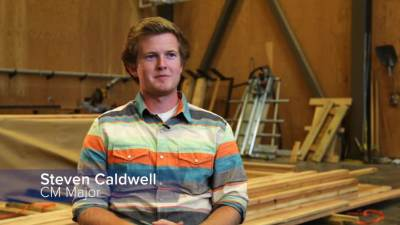 Student Profile: Steven Caldwell