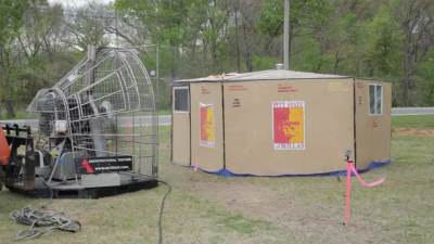 Disaster Shelter Design Competition Wind Test