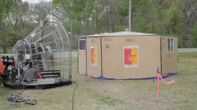 Disaster Shelter Design Competition Wind Test