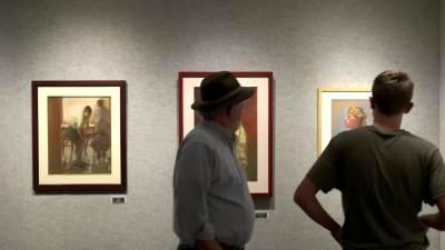 "2015 ""Strokes of Genius"" Gallery Opening"