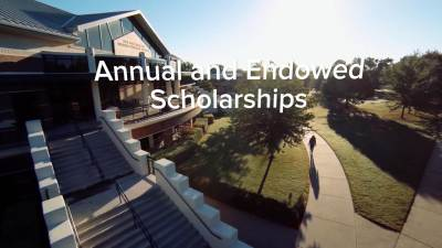Annual and Endowed Scholarships Campaign Video