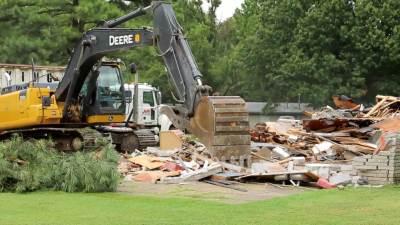 2015 Duplex Demolition