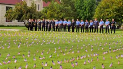 2015 September 11 Remembrance Service