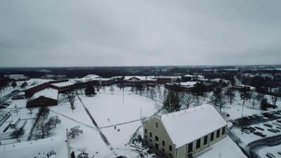 2015 Snowball Fight Video Wall