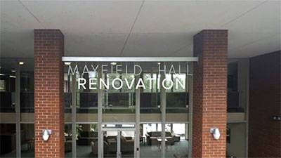 2016 Mayfield Renovation Announcement