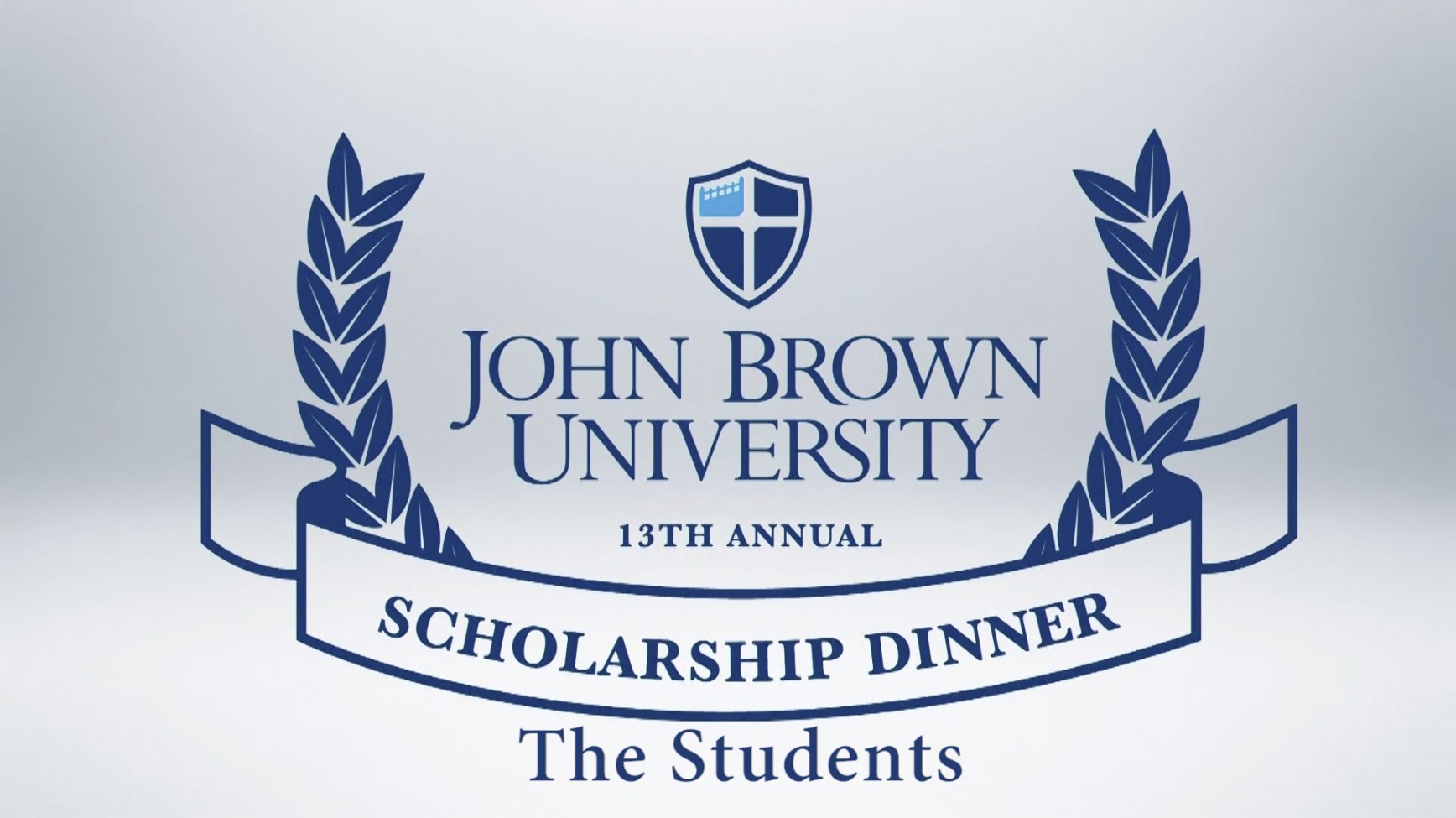 2016 Scholarship Dinner Students