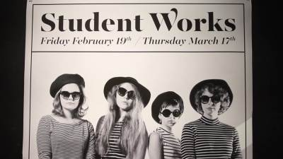 2016 Student Works Gallery Opening