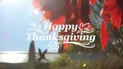 2016 Happy Thanksgiving From JBU