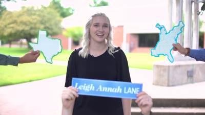 Admissions Leigh Annah 2018