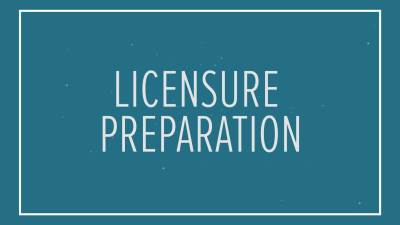 BTF Grad Licensure Preparation