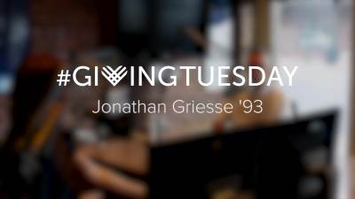 Giving Tuesday Jonathan