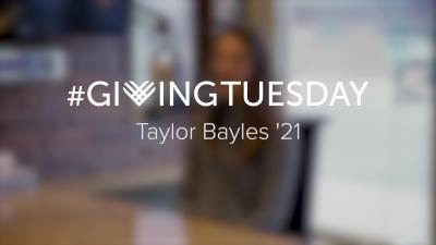 Giving Tuesday Taylor