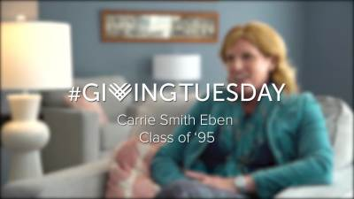 Giving Tuesday Carrie Eben