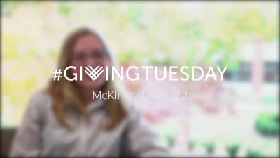 Giving Tuesday 2019 McKinley Dirks