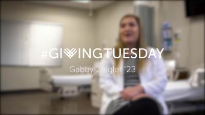 Giving Tuesday Gabby Zeigler 2019