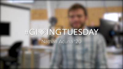 Giving Tuesday Nathan Acuna 2019