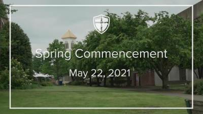 Spring Commencement 2021